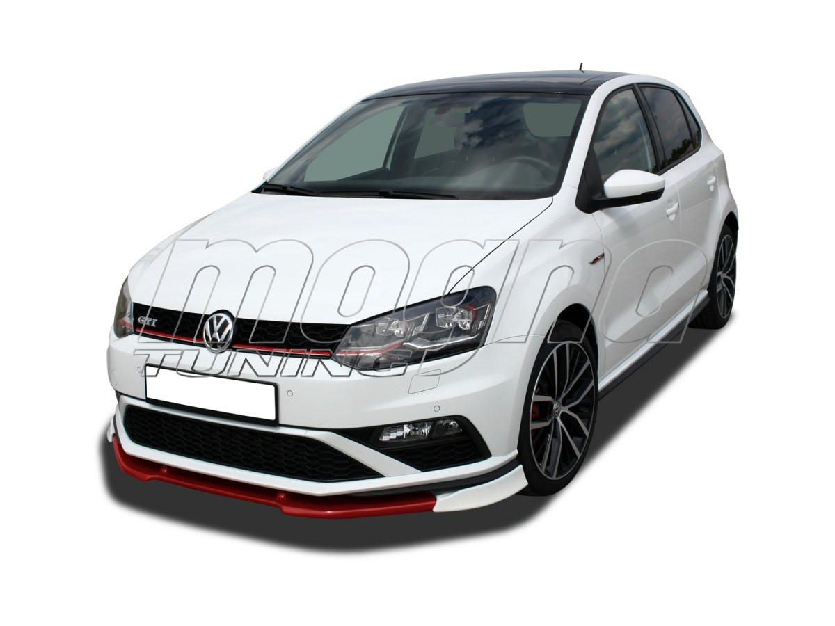 vw polo 6c gti facelift vx frontansatz. Black Bedroom Furniture Sets. Home Design Ideas
