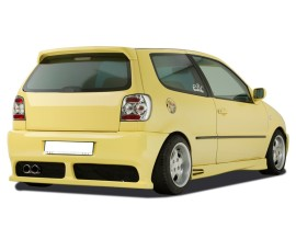 VW Polo 6N GT5 Rear Bumper with Number Plate Support