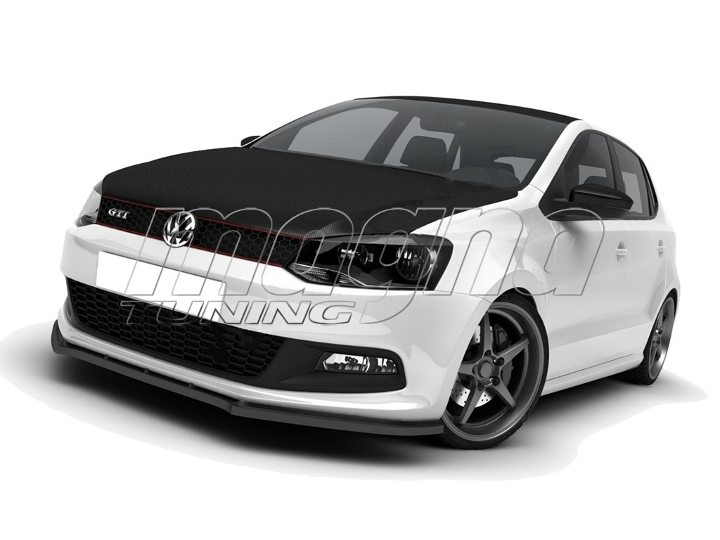 vw polo 6r gti m line front bumper extension. Black Bedroom Furniture Sets. Home Design Ideas