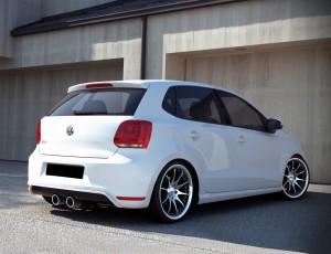 VW Polo 6R GTI R32-Look Rear Bumper Extension