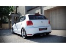 VW Polo 6R GTI R32-Look Rear Bumper Extension