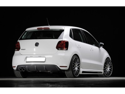 VW Polo 6R GTI RX Rear Bumper Extension