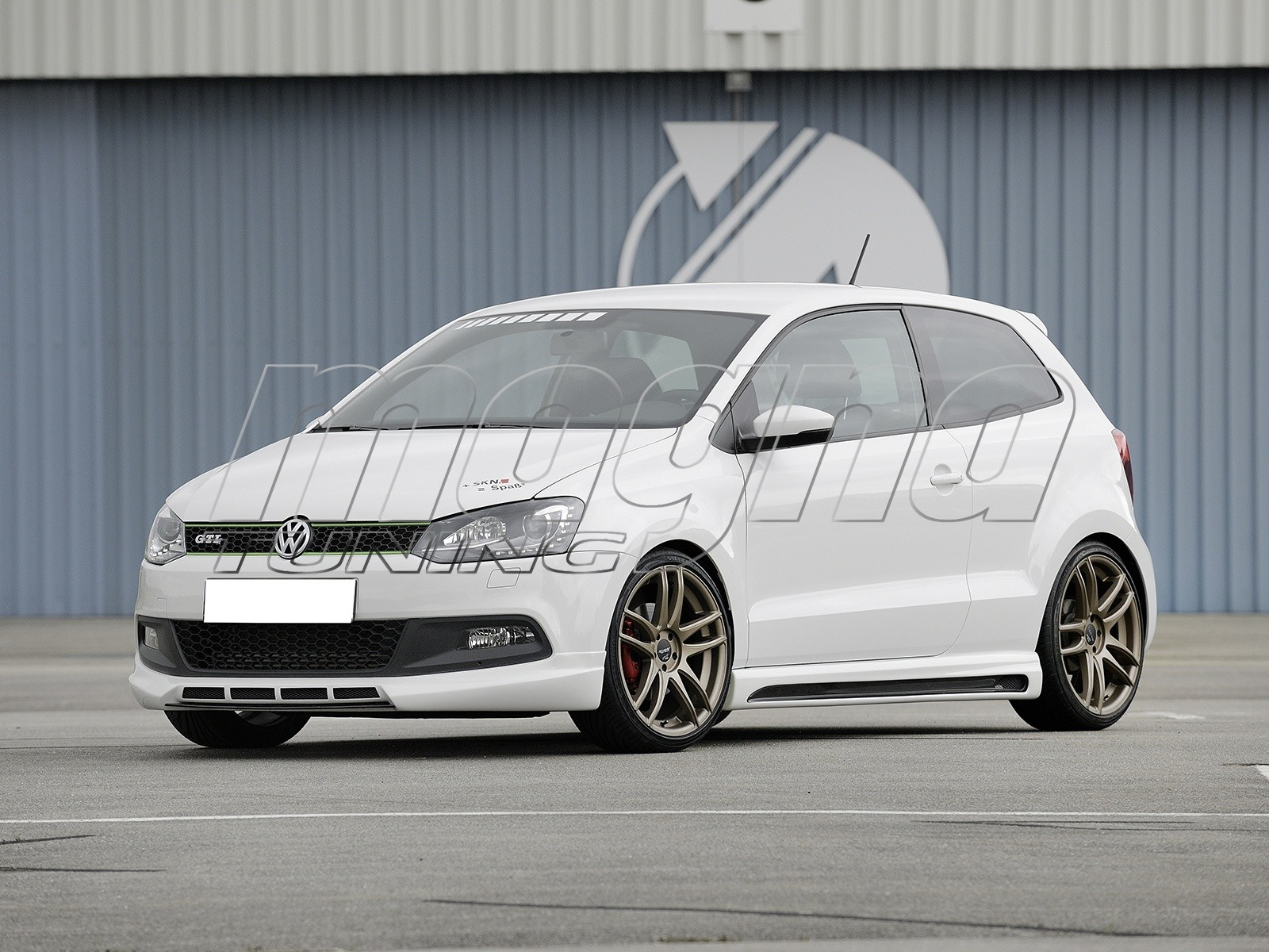 vw polo 6r gti rx2 front bumper extension. Black Bedroom Furniture Sets. Home Design Ideas