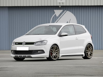 VW Polo 6R GTI RX2 Front Bumper Extension
