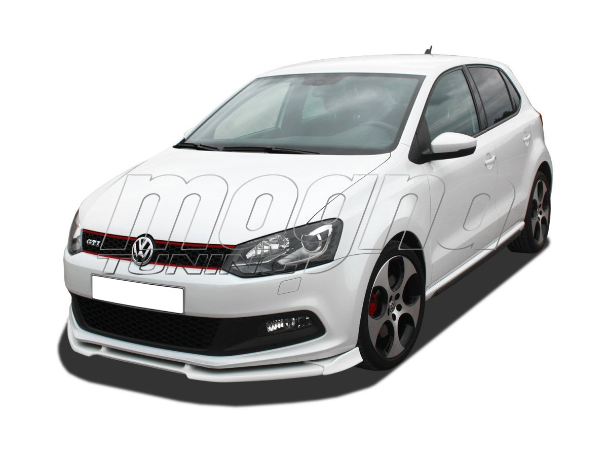 vw polo 6r gti v2 front bumper extension. Black Bedroom Furniture Sets. Home Design Ideas