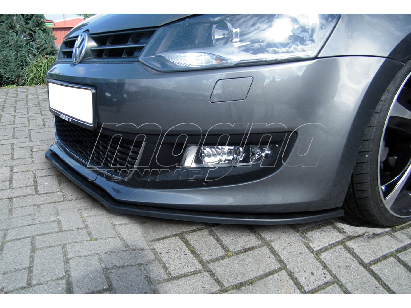 vw polo 6r i tech front bumper extension. Black Bedroom Furniture Sets. Home Design Ideas