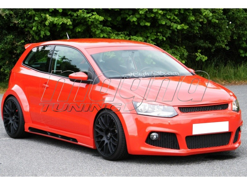 vw polo 6r raceline wide body kit. Black Bedroom Furniture Sets. Home Design Ideas