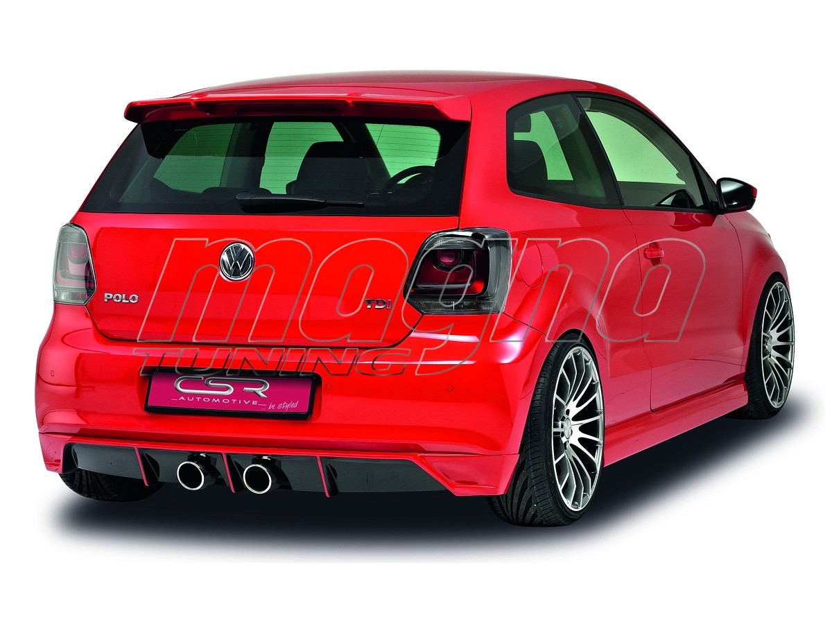 vw polo 6r sfx rear wing. Black Bedroom Furniture Sets. Home Design Ideas