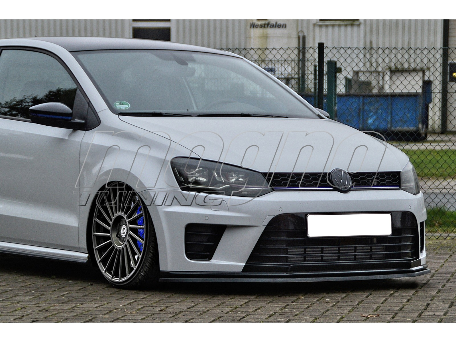 vw polo 6r wrc invido front bumper extension. Black Bedroom Furniture Sets. Home Design Ideas