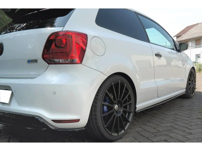 VW Polo 6R WRC Meteor Side Skirt Extensions