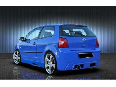 VW Polo 9N Chrome Rear Bumper