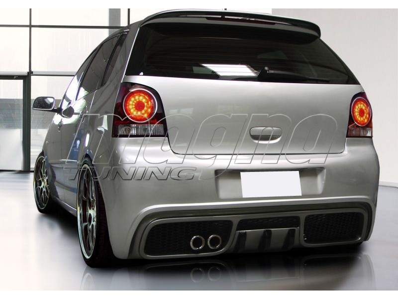 vw polo 9n gts rear bumper. Black Bedroom Furniture Sets. Home Design Ideas