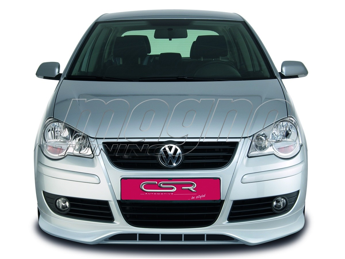 vw polo 9n3 newline front bumper extension. Black Bedroom Furniture Sets. Home Design Ideas