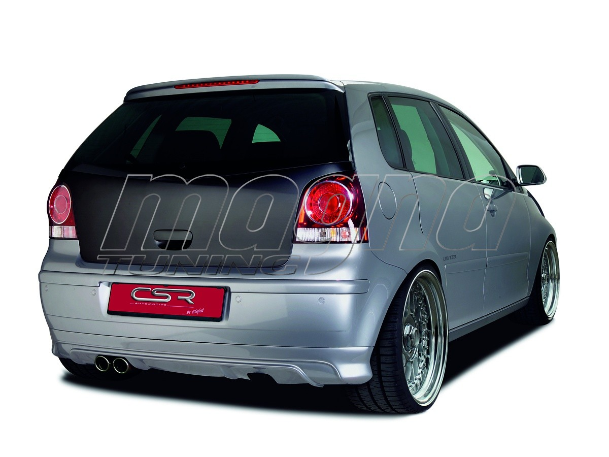 vw polo 9n3 newline rear bumper extension. Black Bedroom Furniture Sets. Home Design Ideas