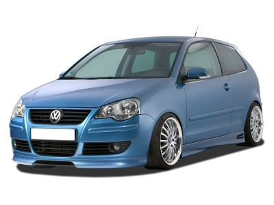 VW Polo 9N3 RX Front Bumper Extension