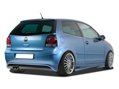 VW Polo 9N3 RX Rear Bumper Extension