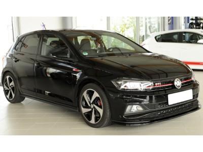VW Polo AW GTI / R-Line Extensie Bara Fata Razor