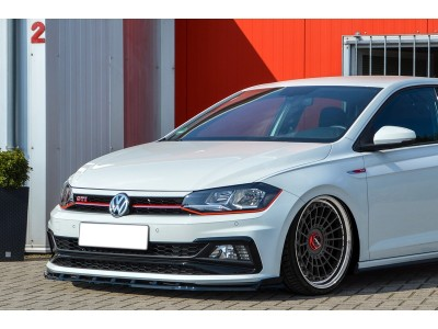 VW Polo AW GTI Invido Front Bumper Extension