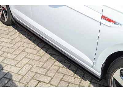VW Polo AW GTI Invido Side Skirt Extensions