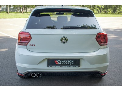 VW Polo AW GTI MX Rear Bumper Extensions