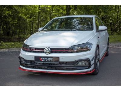 VW Polo AW GTI MX2 Front Bumper Extension