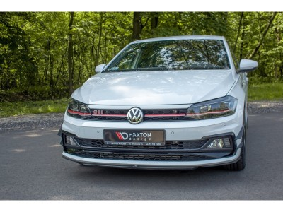 VW Polo AW GTI MX3 Front Bumper Extension