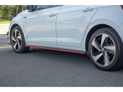 VW Polo AW GTI MXR Side Skirt Extensions