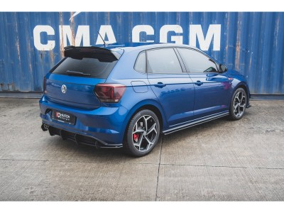 VW Polo AW GTI Matrix Side Skirt Extensions