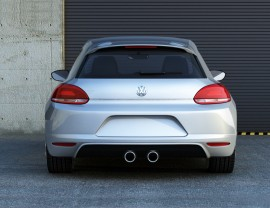 VW Scirocco M2 Rear Bumper Extension