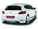 VW Scirocco NewLine Rear Bumper Extension
