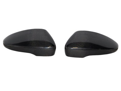 VW Scirocco OEM Carbon Fiber Mirror Covers