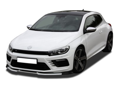 VW Scirocco R Facelift V3 Front Bumper Extension