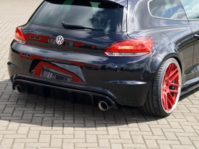 VW Scirocco R Invido Rear Bumper Extension