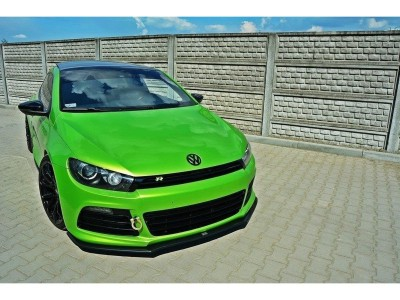 VW Scirocco R Matrix Front Bumper Extension