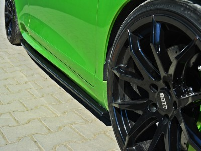 VW Scirocco R Matrix Side Skirt Extensions