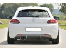 VW Scirocco Razor Rear Bumper Extension