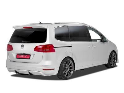 VW Sharan 7N Crono Rear Bumper Extension