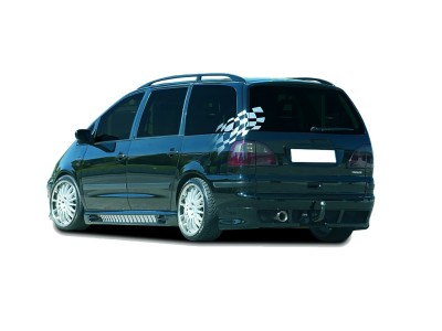 VW Sharan Razor Rear Bumper Extension