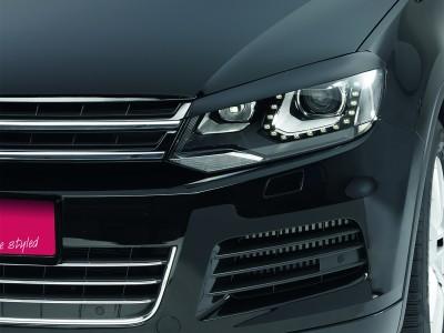 VW Touareg 2 Bad-Look Scheinwerferblenden