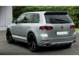 VW Touareg Facelift Vortex Rear Bumper Extension