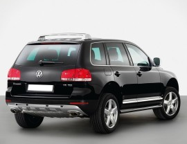 VW Touareg M-Style Rear Bumper Extension