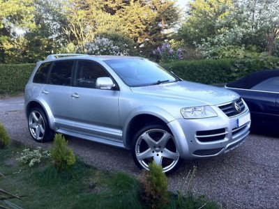 VW Touareg MX Wheel Arch Extensions