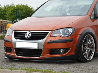 VW Touran Crosstouran Iris Front Bumper Extension