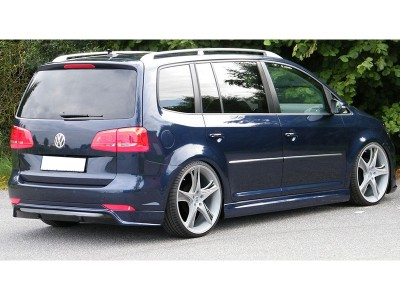 VW Touran Facelift Intenso Rear Bumper Extension