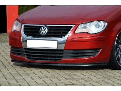 VW Touran Facelift Invido Front Bumper Extension