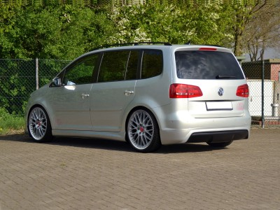 VW Touran Facelift R-Look Rear Bumper Extension