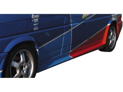 VW Transporter T4 Long RS4 Side Skirts + Wheel Arch Extensions