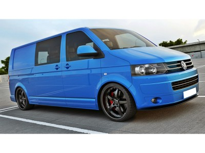VW Transporter T5 Facelift M2 Front Bumper Extension