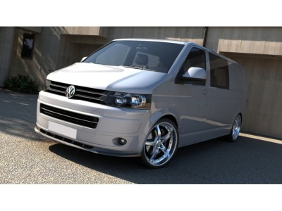 VW Transporter T5 Facelift MX2 Front Bumper Extension