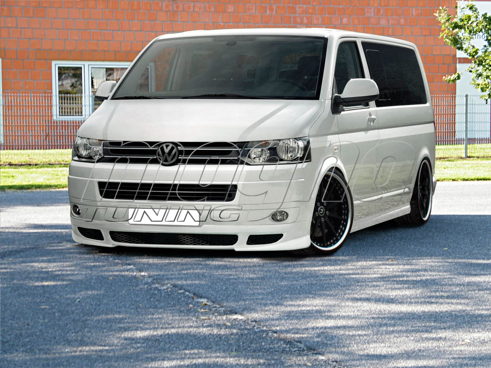 vw transporter t5 facelift r2 body kit. Black Bedroom Furniture Sets. Home Design Ideas